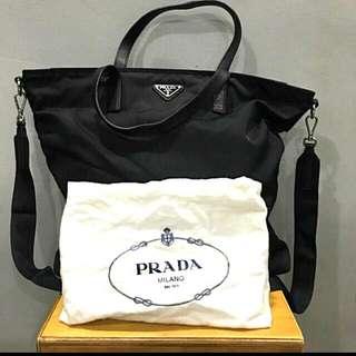 Auth Prada Shopping Tote SALE! SGD300