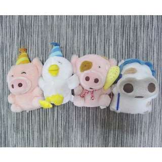 Mcmug, Mcdull and Friends Plush Dolls. (collectors Set)