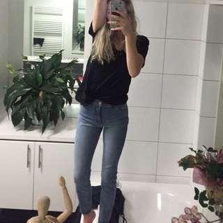 Rollas blue denim jeans