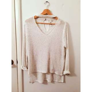 Ever new Choker Sweater
