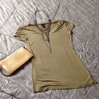Rue 21 V-neck Shirt
