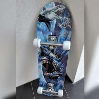 Never Used: Shark-deisgned Skateboard