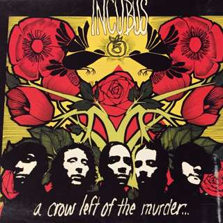 Incubus  - A Crow Left of the Murder    Music CD with bonus VCD