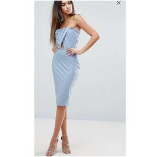 Baby Blue / Sky Blue Bodycon Dress