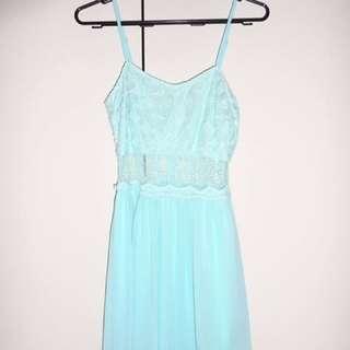 Light Blue Cocktail/Party/Short Evening Dress