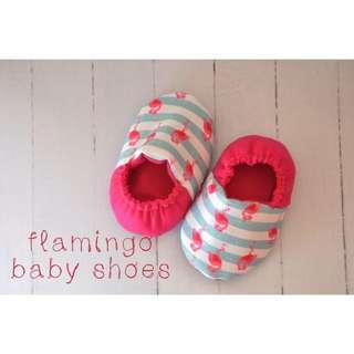 Flamingo Baby Shoes