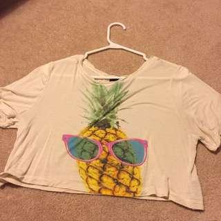 Forever 21 Pineapple Shirt