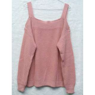 NEW Dusty Pink Sabrina Sweater