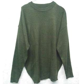 NEW Olive Green Loose Sweater