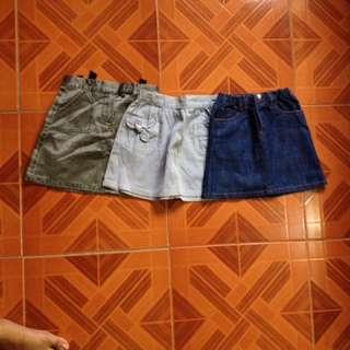 Skirts Pambata 💕