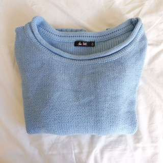 Light Blue Jumper