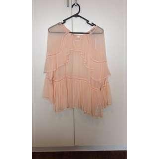 ASOS Pink Top Size 8