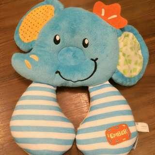 Lucky Baby 旅行護頸枕-大象Ember