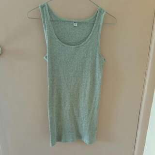 Uniqlo Grey Singlet