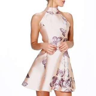 Boohoo Butterfly Dress