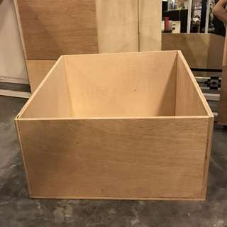 Wooden Crate For Vinyl Records