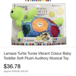 Tomy Lamaze Musical Turtle