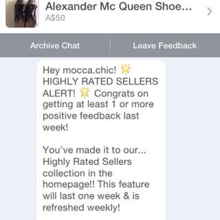 Highly Rate Seller