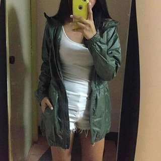UNIQLO Army Green Parka Jacket