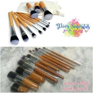 Bamboo Brush Set