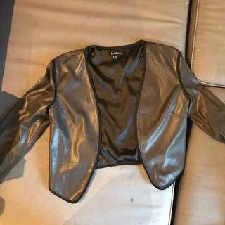 Snake Leather Cardigan