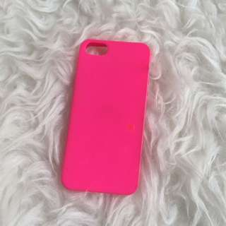 Case Jelly Pink iPhone 5s