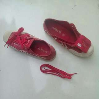 Authentic Red Feiyue Sneakers