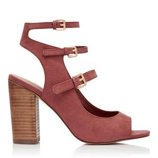 Forever New Strappy Heels - Size 8