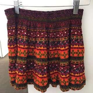 Colourful Festival Skirt