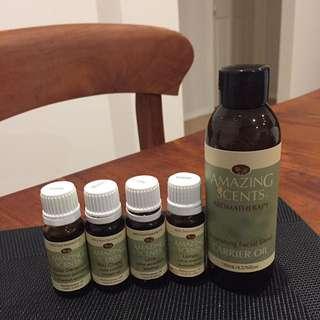 Amazing Scents Aromatherapy Oils