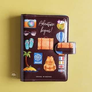 Travel Custom Planner, Custom Binder, Custom Journal