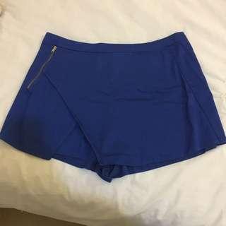 Glassons Blue Skort size 14