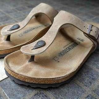 Birkenstock - Size 40 (unisex) Real Leather