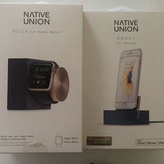 Native union: Iphone and apple watch charger station