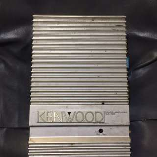 KenWood Made In Japan Stereo Power Amplifier   後級