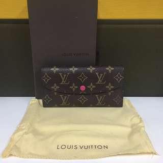 SALE!!! Louis Vuitton Emilie Wallet - Fucshia