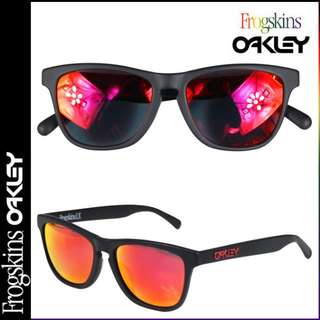 CHEAP | AUTHENTIC | Oakley Frogskins LX Sunglasses