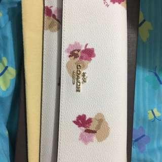 Coach Floral Pastel Wallet
