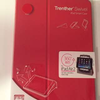 iPad Air 2 Smart Case *Trenther Swivel* Red