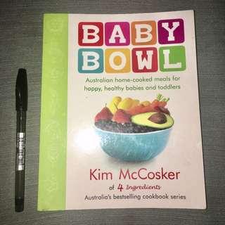 Baby Bowl Recipe Book