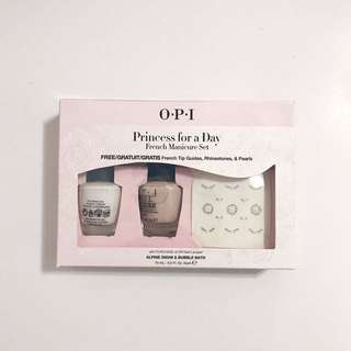 "OPI French Manicure Set Nail Polish ""Princess For A Day"""