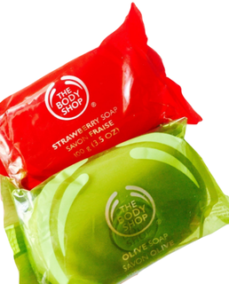 Strawberry and Olive Soap  |  The Body Shop