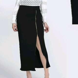 Rok Span Zipper skirt