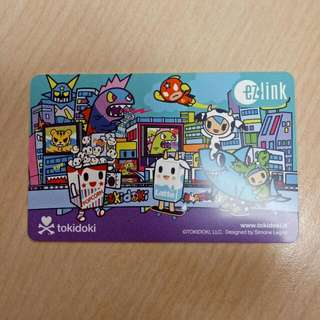 Ezlink Transit Collectible Card Tokidoki