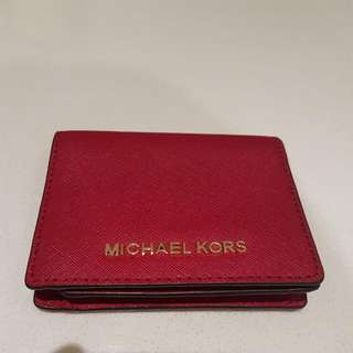Michael Kors Wallet in Cherry colour