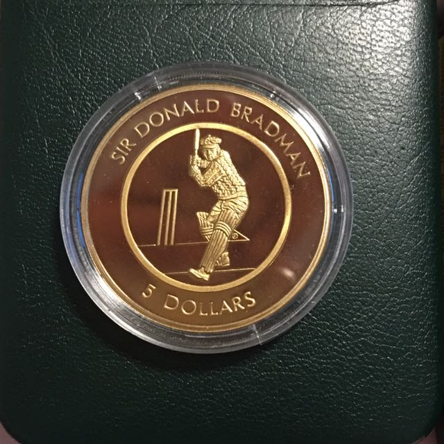 1996 5 Dollar Proof Coin Of Australia