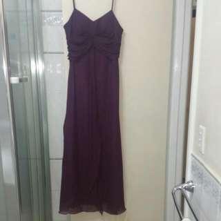 XXL Purple Formal Dress