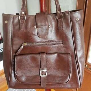 Ladies Leather Vintage Shoulder Bag