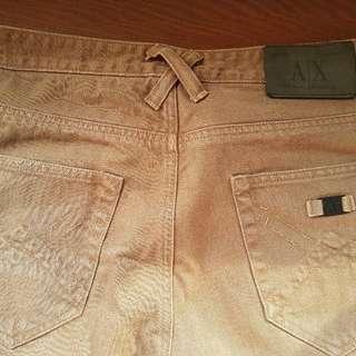 Armani Exchange Khaki Jeans