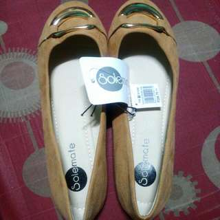 Solemate Suede Dollshoes